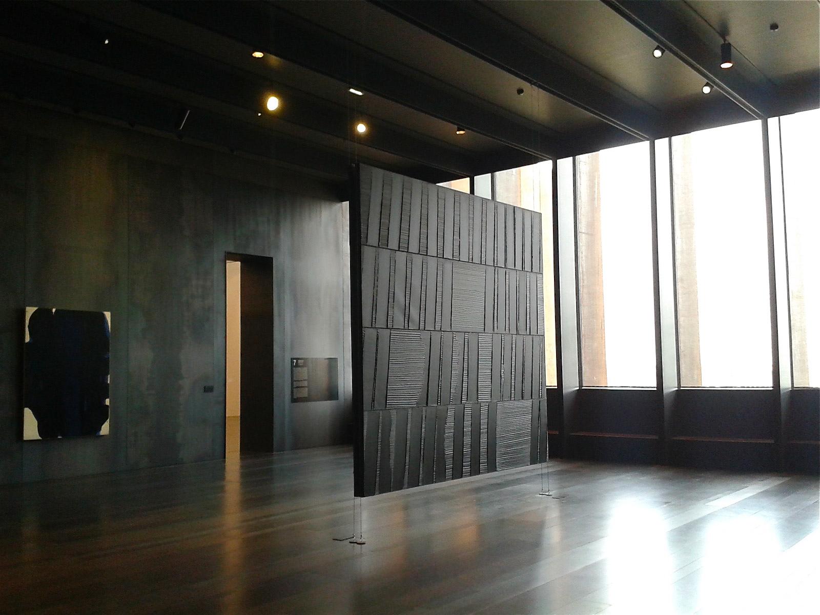 mus e soulages rodez et la lumi re fut blog tourisme en occitanie. Black Bedroom Furniture Sets. Home Design Ideas