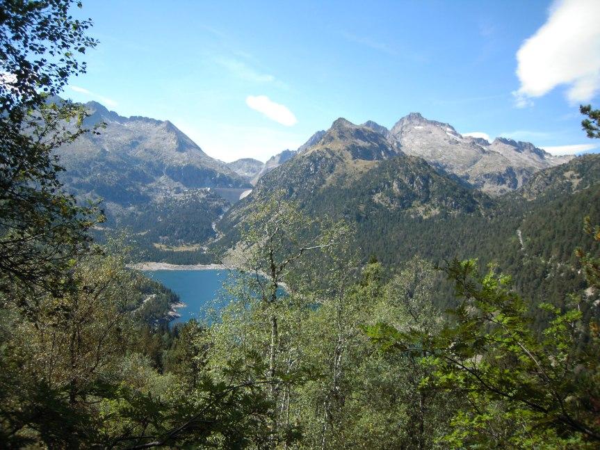 Le lac d'Orédon, un bleu turquoise de carte postale