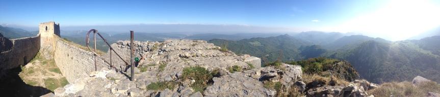Montségur, un panorama époustouflant