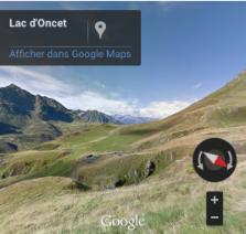 Voir le début de la randonnée sur Google Street Views