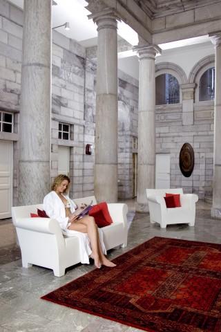 D'hier à aujourd'hui : 150 ans d'architecture - Le Hall monumental, tout en marbre ©HPTE_LUZEA-SIERPINSKI
