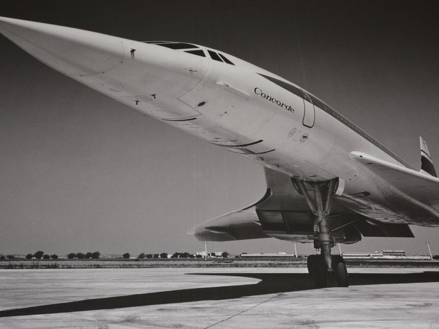 Le Concorde, entré dans l'Histoire, est l'une des stars d'Aeroscopia.