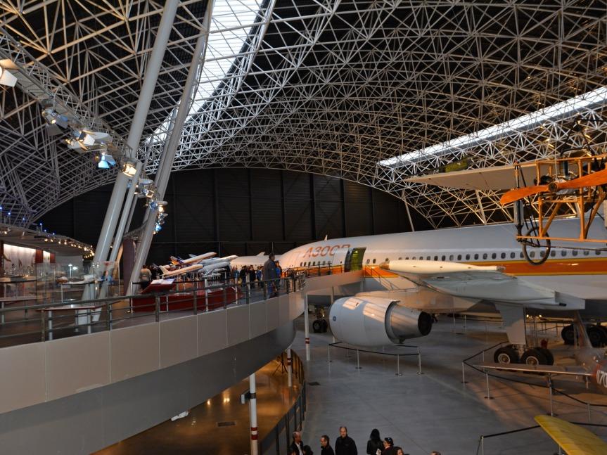 Aeroscopia : 7 800 m2 dédiés à notre patrimoine aéronautique.