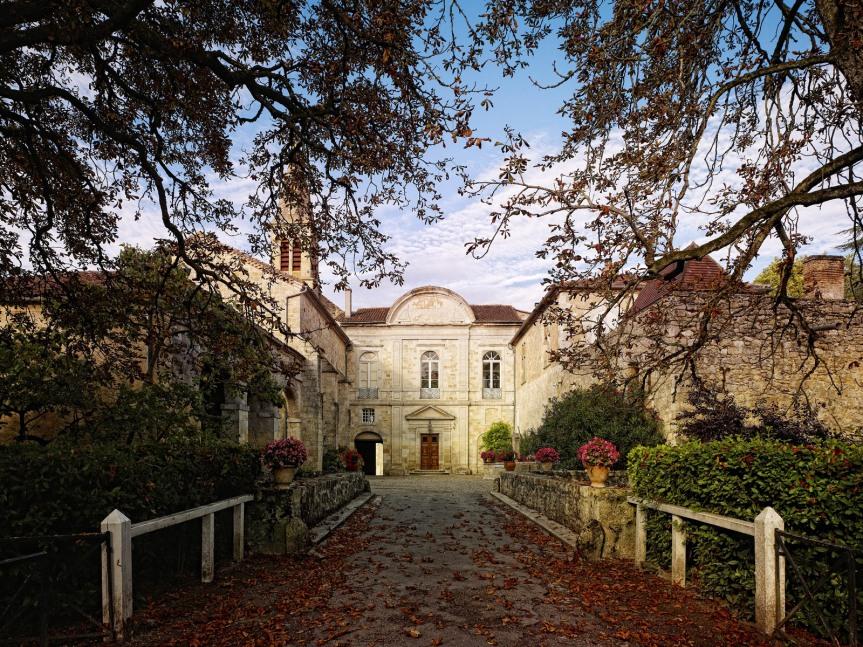 Le château de Cassaigne, l'un des grands domaines de l'Armagnac.