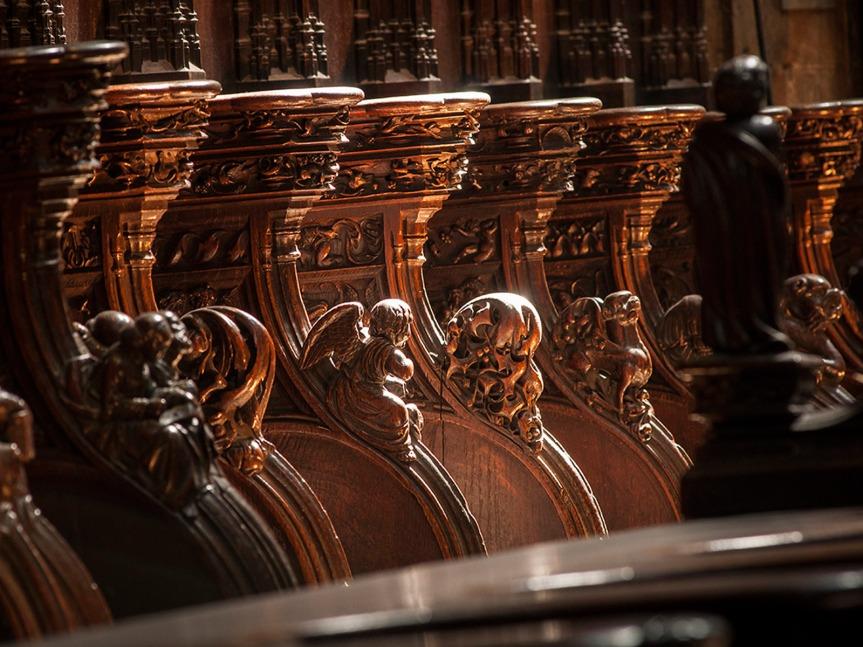 Détail du choeur ©Lionel Lizet - Office de tourisme du Grand Auch.