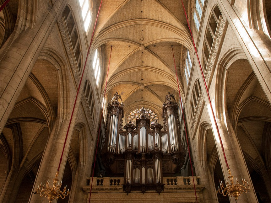 Orgue Cathedrale © Lionel Lizet - Office de tourisme du Grand Auch.