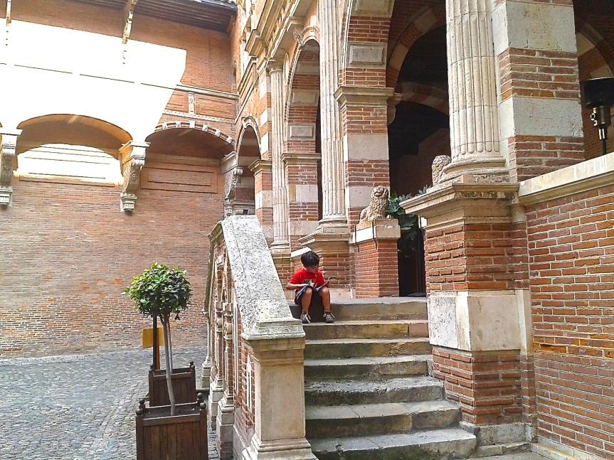 Cour de l'Hôtel d'Assézat - Place d'Assézat