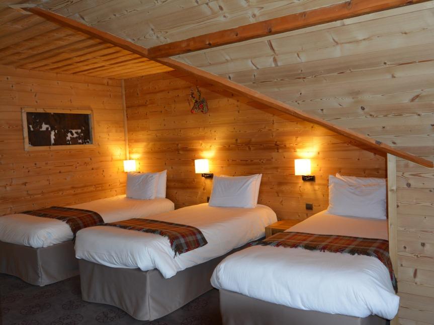 Concept grange pour des chambres entièrement rénovées.