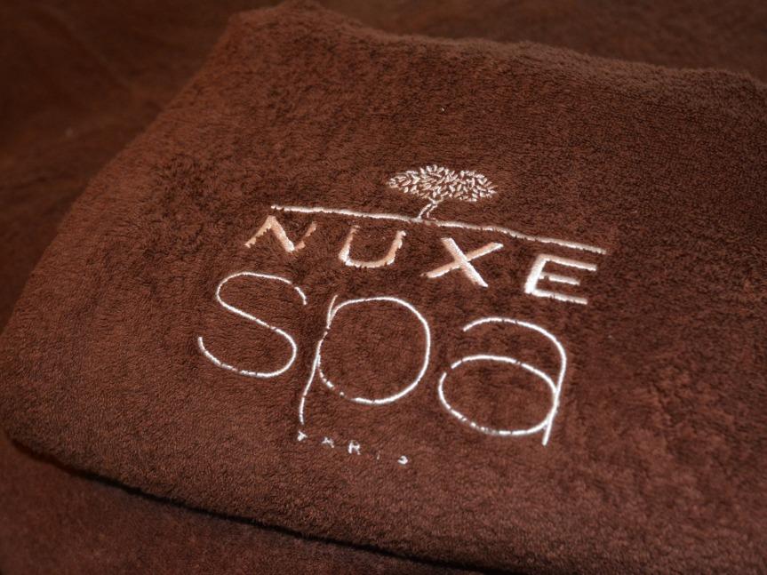 Nuxe a choisi Saint-Lary parce que Sensoria était en accord avec sa philosophie : nature, luxe et performance.