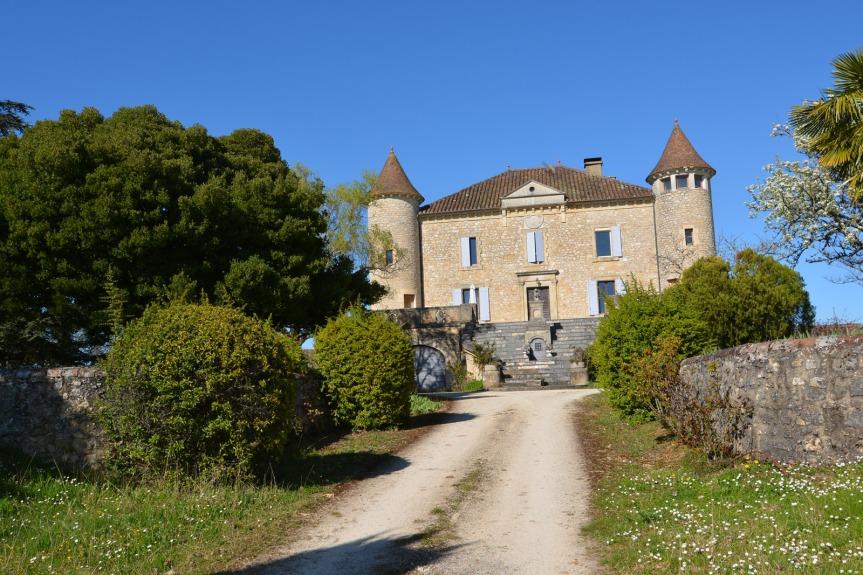 Le Château de Chambert, le plus grand domaine en biodynamie de l'AOC Cahors (65 hectares)