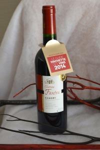 Le Château Fantou, sélectionné par le Guide Hachette des Vins.