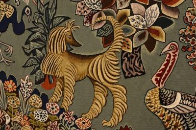 Au centre de l'inspiration de Dom Robert, la nature et les animaux familiers.