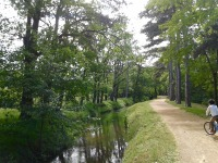 Idée balade à 6 km de Sorèze : la voie verte de la Rigole du Canal du Midi, à Revel.