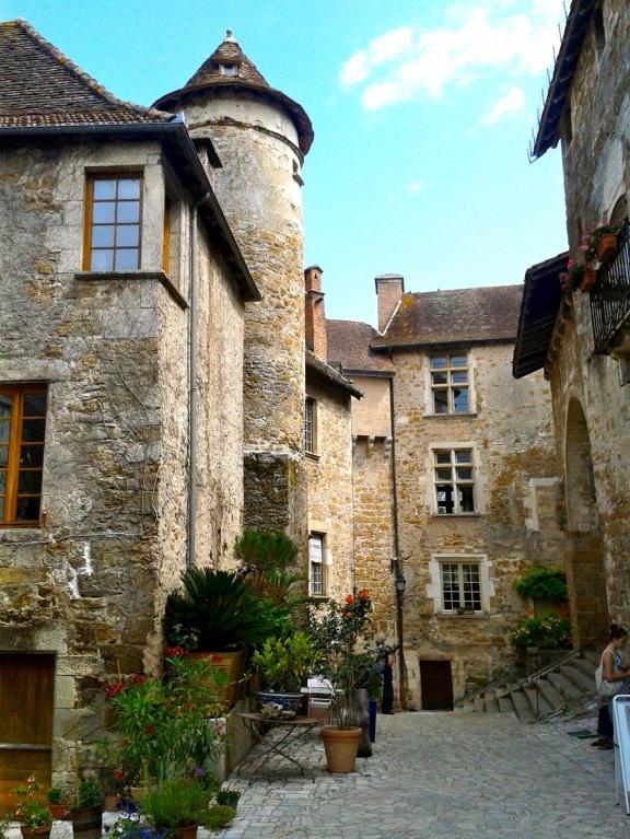 Carennac, l'un des plus beaux villages de France.