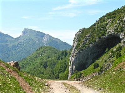 Le col d'Estrets où fut filmé l'attaque de la bergère par la Bête.