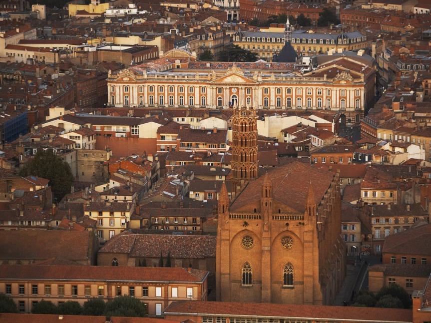 Une incandescence veloutée qui donne à Toulouse une chaleur latine.
