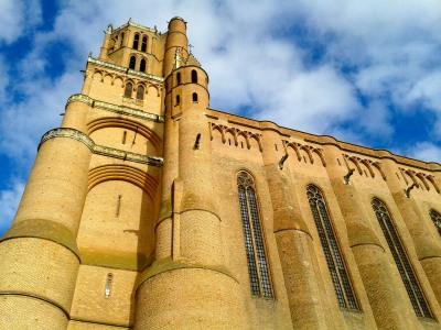 La cathédrale d'Albi, pièce maîtresse de la cité épiscopale inscrite au patrimoine mondial par l'Unesco